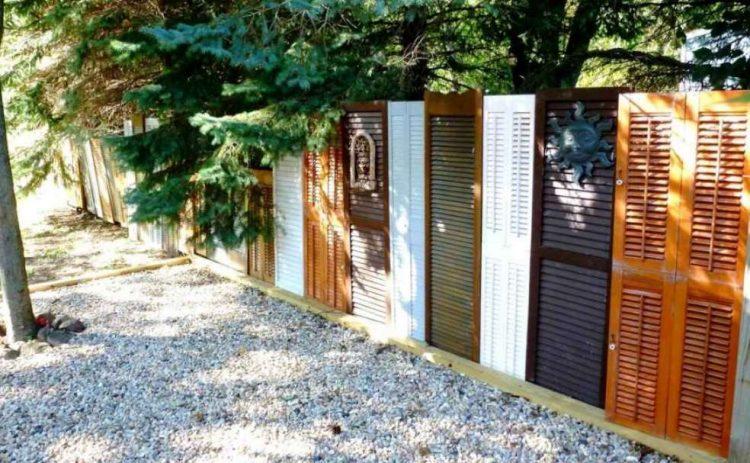 Shutter Door Fence