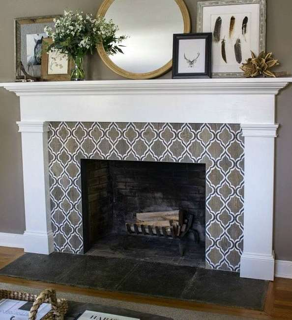 Tile Fireplace Ideas