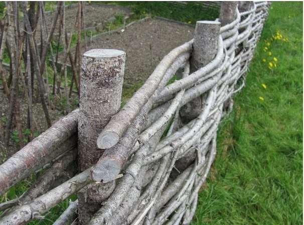 Wattle Fencing