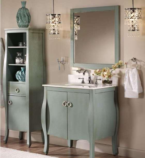 bathroom linen storage
