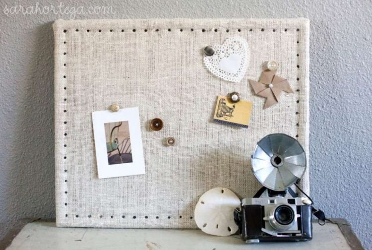 diy cork board wall tiles