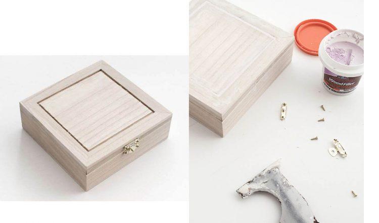 diy jawelry box