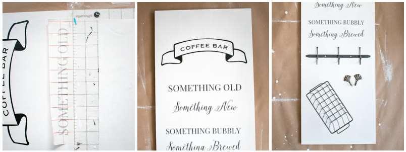 how to diy coffee bar design ideas