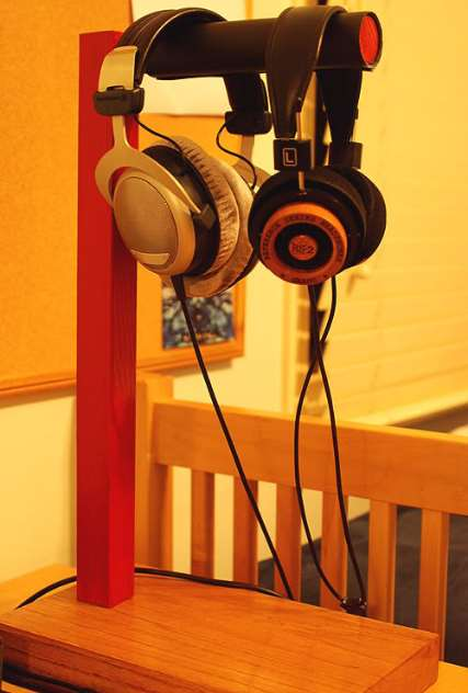 ikea headphone stand