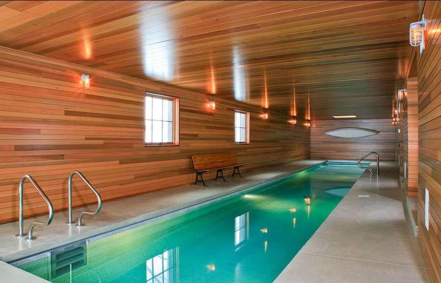 indoor poll wood