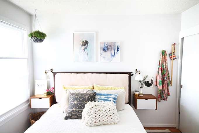 mid century modern bedding