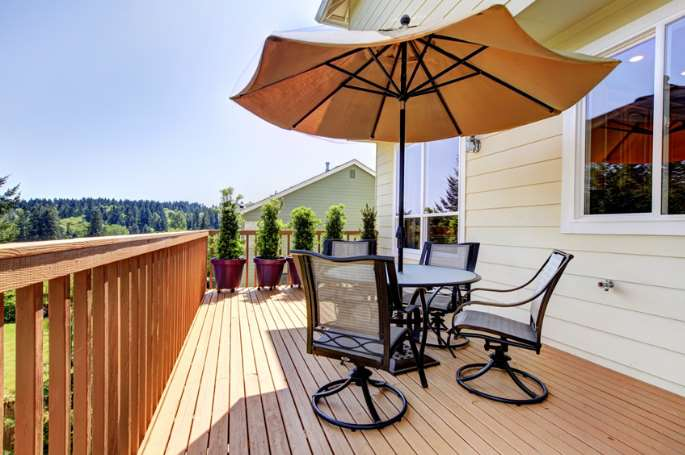 small deck decor ideas