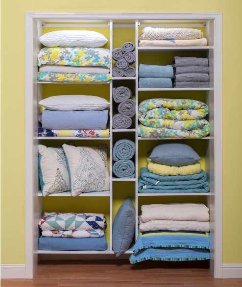 unique linen storage ideas