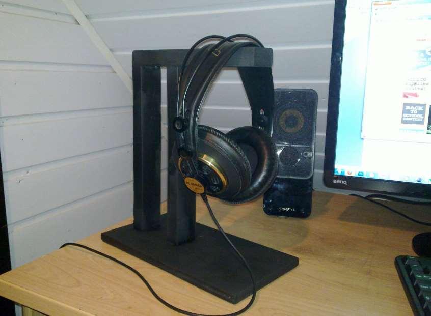 headphone stand ikea
