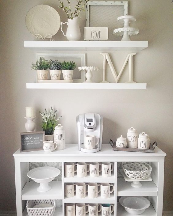 Tremendous 25 Diy Coffee Bar Ideas For Your Home Stunning Pictures Gmtry Best Dining Table And Chair Ideas Images Gmtryco