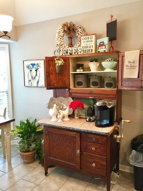 Diy Coffee Bar Corner
