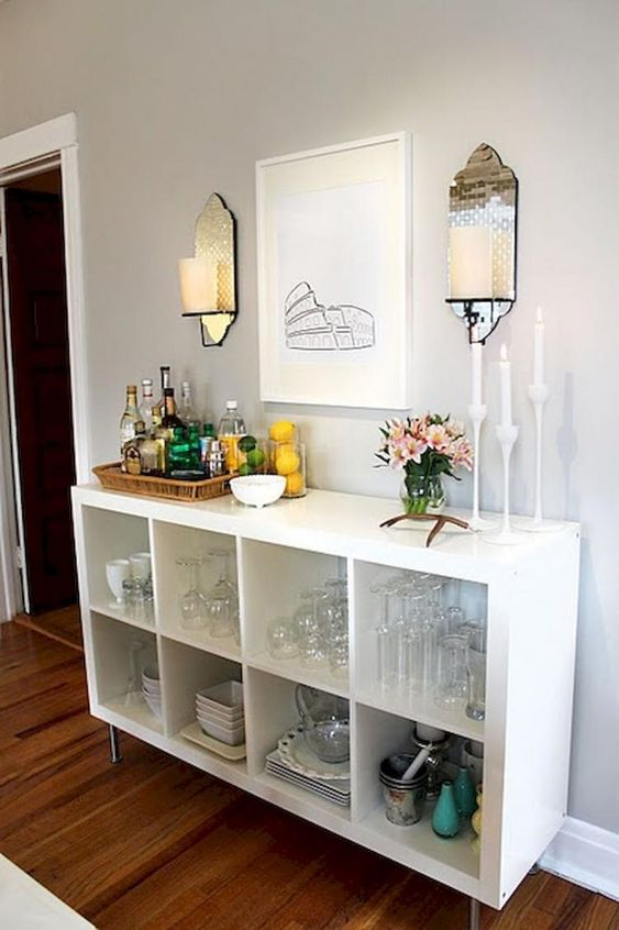 Simple Coffee bar Ideas