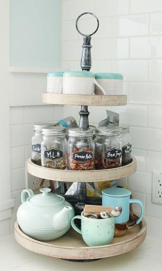 Tiny coffee bar ideas