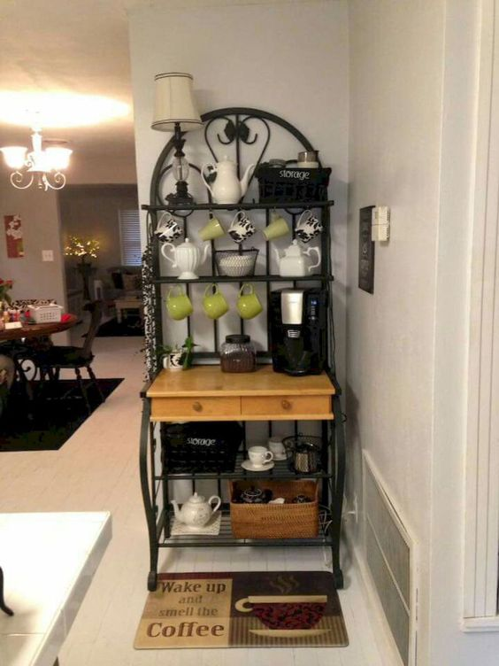 small space coffee bar ideas