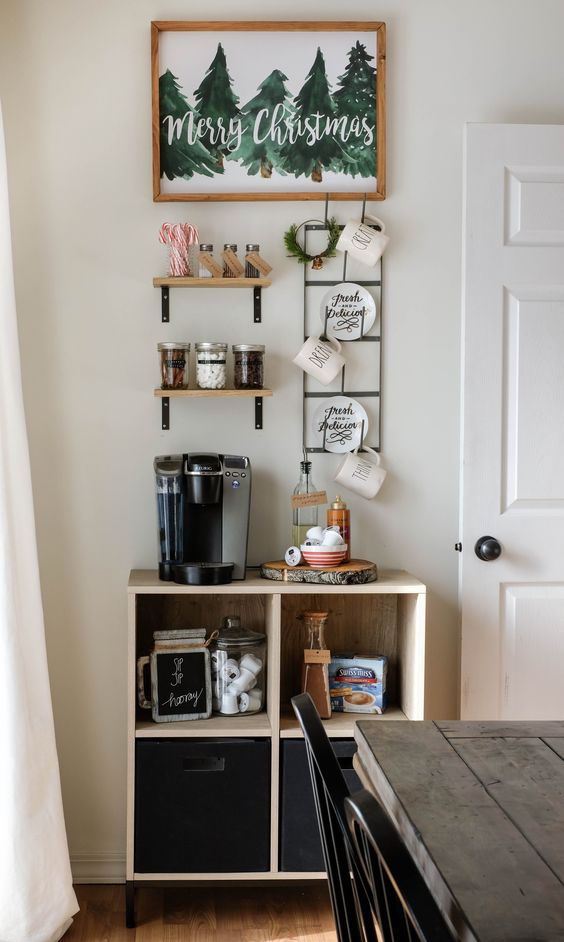 Coffee Bar Kitchen: 25+ DIY Coffee Bar Ideas For Your Home (Stunning Pictures