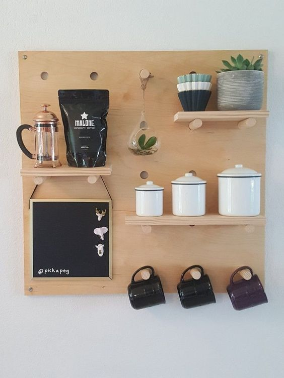 the Wall Coffee Bar Ideas