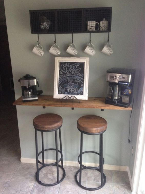 diy Small coffee bar