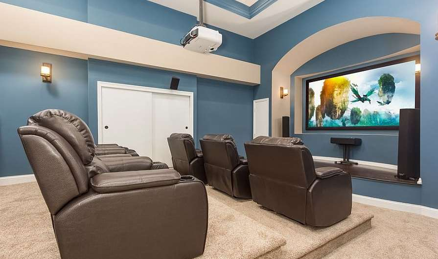 48 Basement Home Theater Design Ideas Awesome Picture Delectable Basement Home Theater Ideas