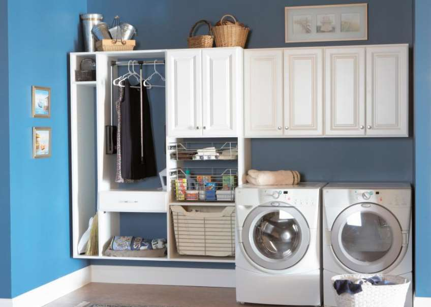 & 14 Basement Laundry Room ideas for Small Space (Makeovers)
