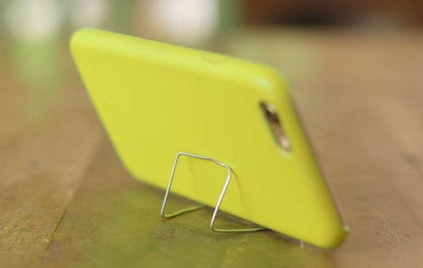 Diy Phone Holder Paper Clip