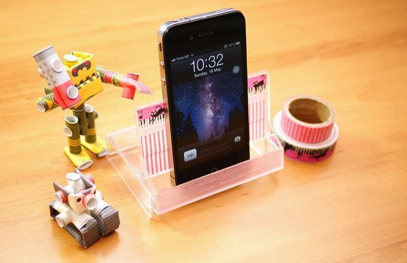 Diy Phone Stand Cassette Case