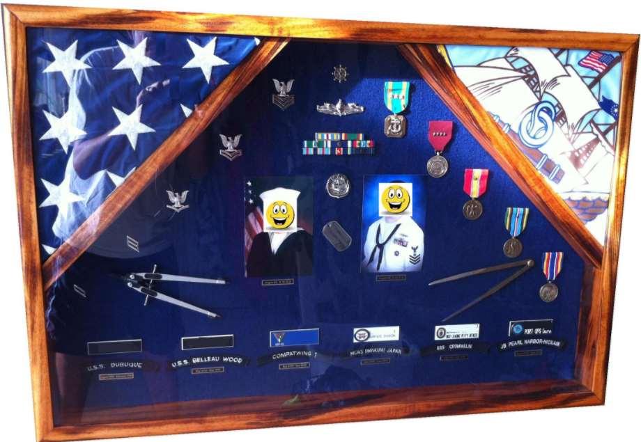 Military Shadow Box Ideas