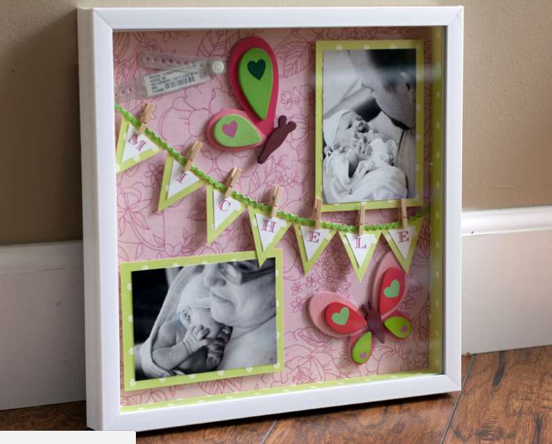 Craft Ideas With Shadow Boxes
