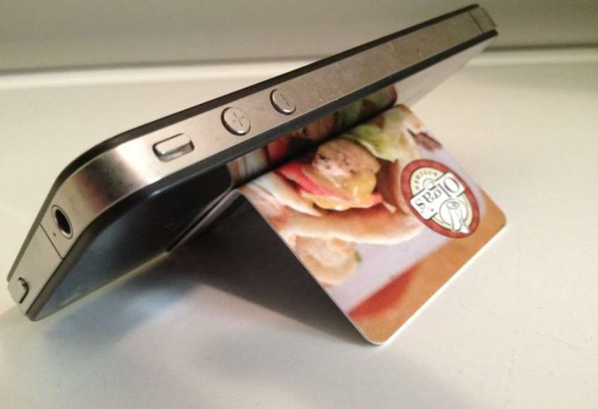 Smartphone Stand Gift Card