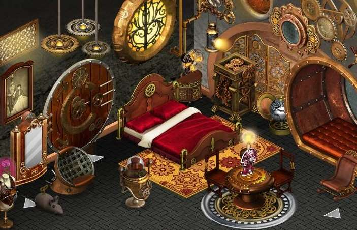 Steampunk Bedroom