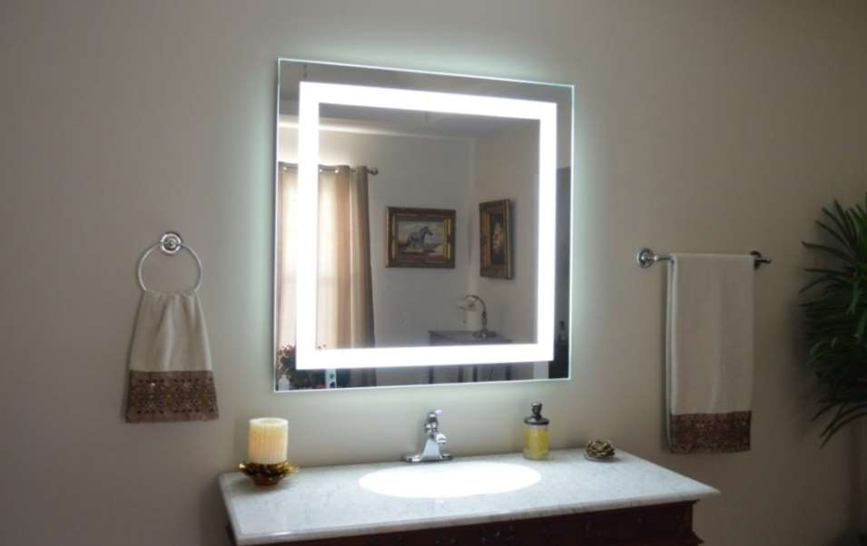 Diy Led Bathroom Lighting diy vanity mirror with lights for bathroom and makeup station