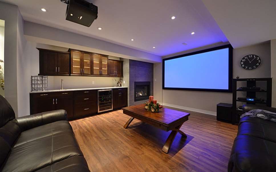 21 basement home theater design ideas awesome picture for Home theater basement design ideas