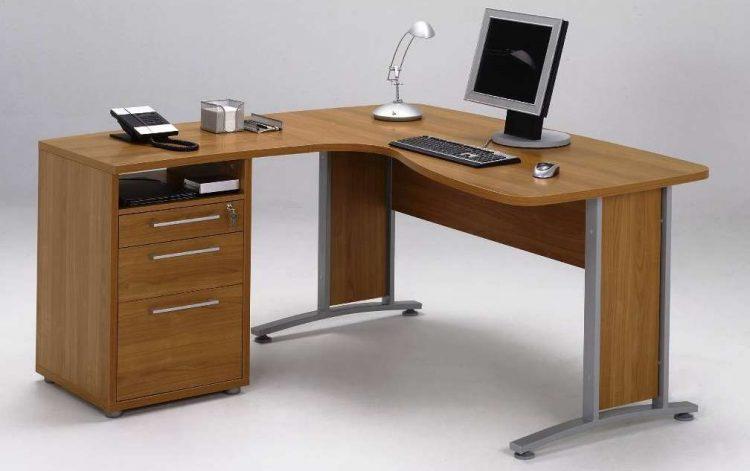 15 diy l shaped desk for your home office corner desk. Black Bedroom Furniture Sets. Home Design Ideas