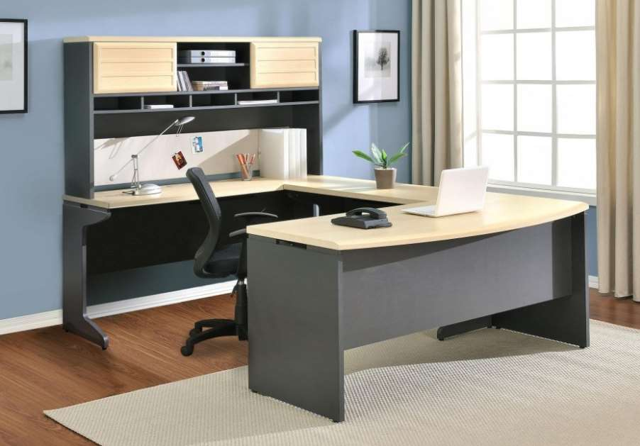 15 diy l shaped desk for your home office corner desk Diy home office desk plans