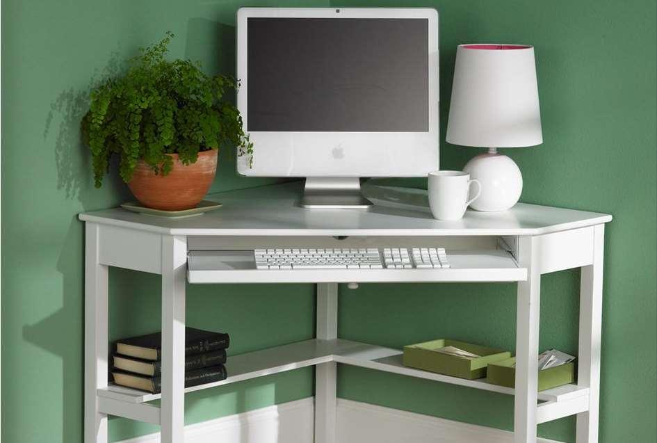 15 diy l shaped desk for your home office corner desk - Diy small corner desk ...