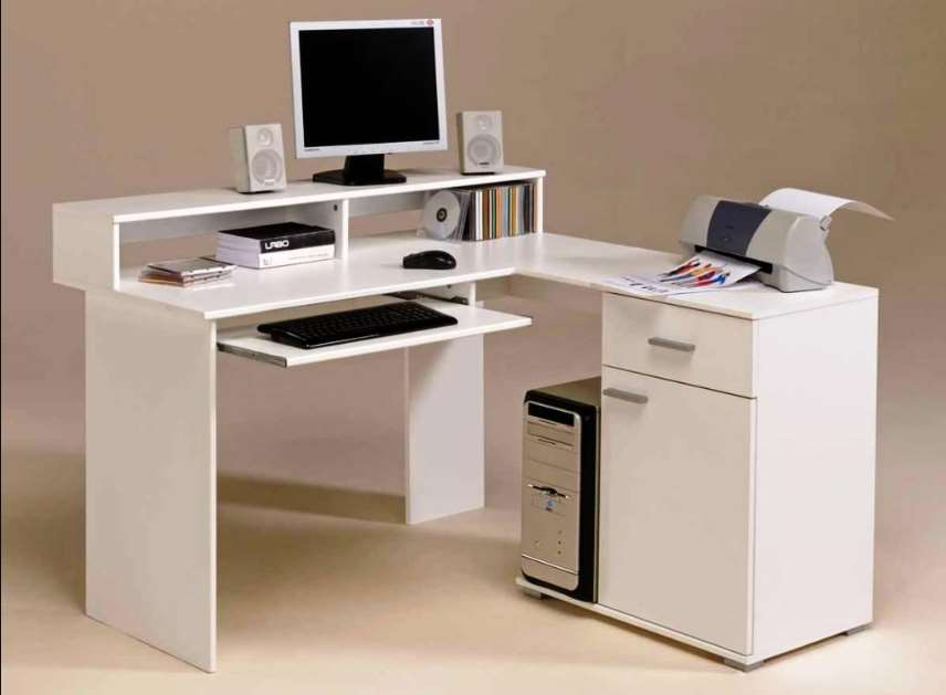 15 Diy L Shaped Desk For Your Home Office Corner Desk