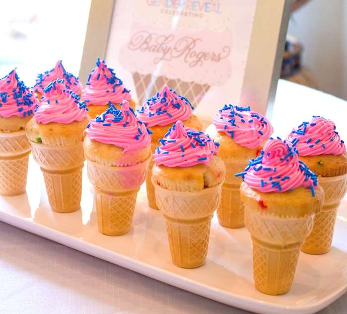 food for gender reveal party