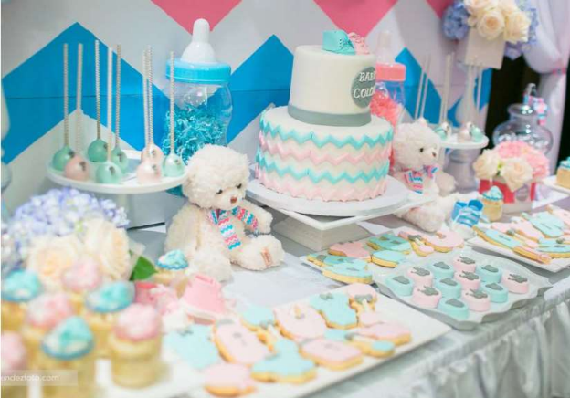 Gender Reveal Party Ideas Food