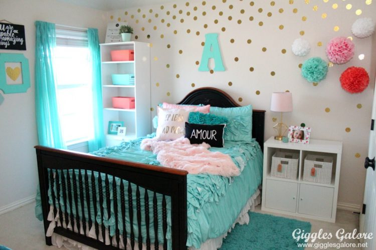 cute turquoise bedroom ideas