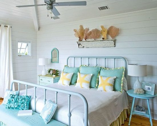 turquoise themed bedrooms