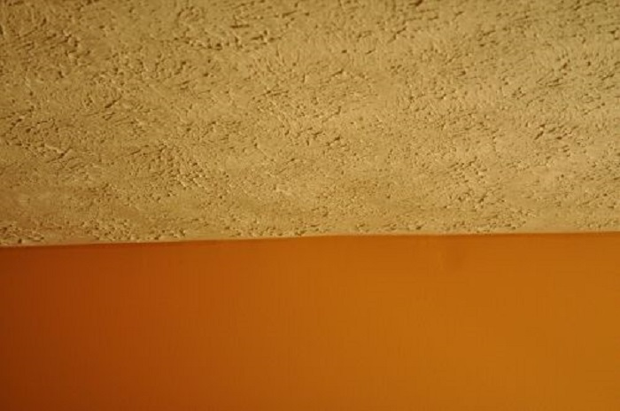 Spray Sand Ceiling Texture