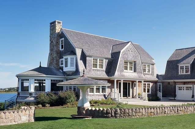 gabled ceiling paint ideas - 15 Cape Cod House Style Ideas and Floor Plans Interior