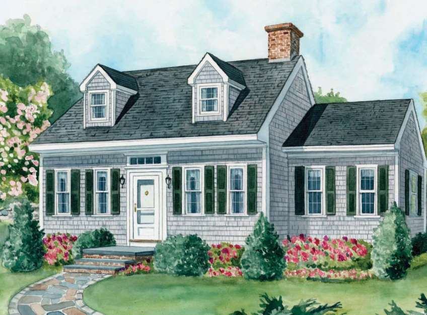 15 cape cod house style ideas and floor plans interior exterior - Cape cod style homes ...