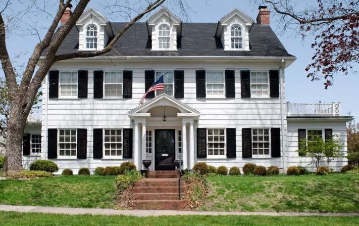 15 cape cod house style ideas and floor plans interior - Colonial house exterior renovation ideas ...