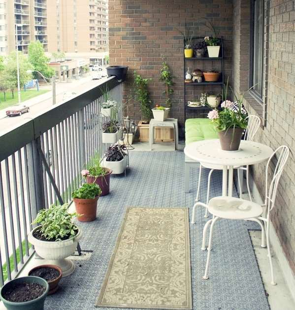 creative small balcony