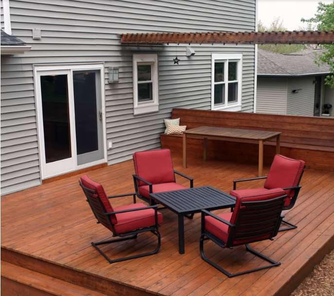 deck furniture ideas