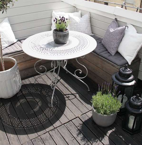 small deck balcony