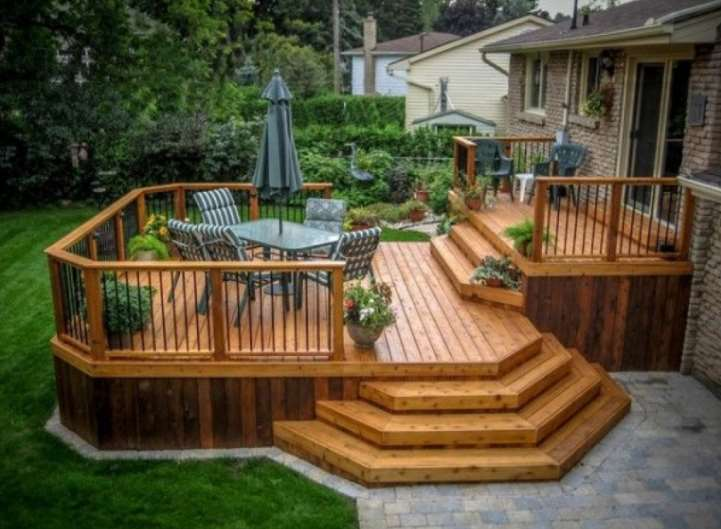 small Decking Designs