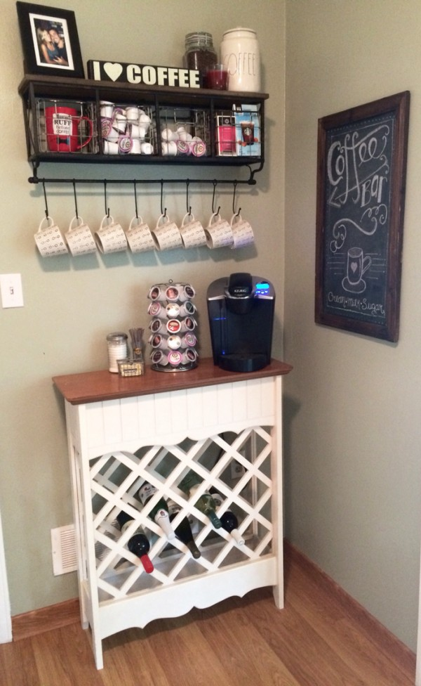 Wine Rack Coffee Bar