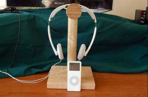 Build headphone Stand Yourself
