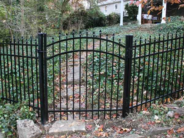 Image result for Aluminum garden fences